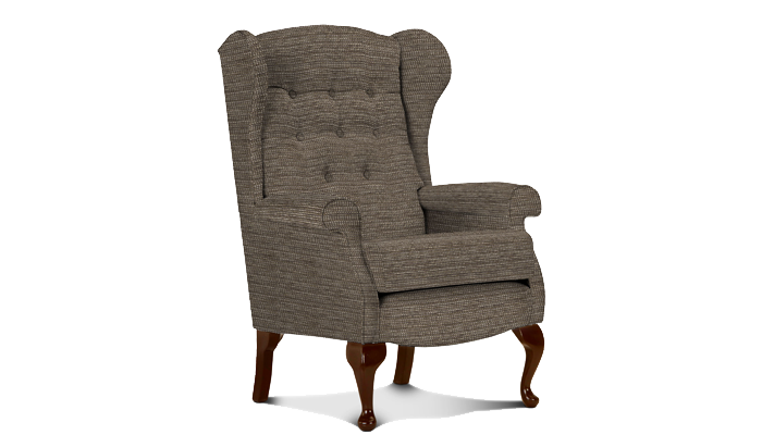Low Seat Wing Chair