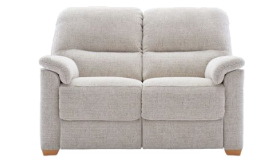 2 SEATER SOFA WOODEN FEET
