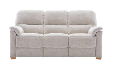 3 SEATER SOFA WOODEN FEET