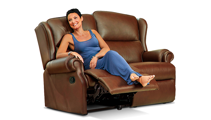 Standard 2 Seater Recliner Sofa