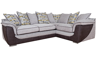 Corner Sofa Pillow Back