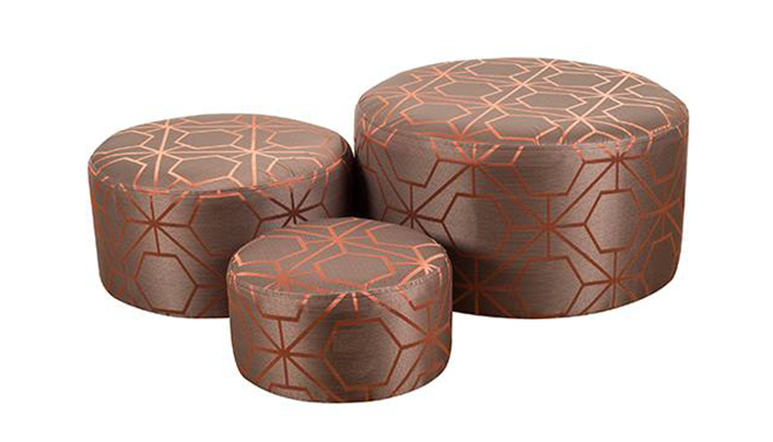 Set of 3 Footstools