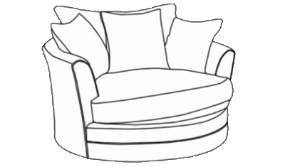 Large Twister Chair