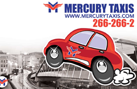 Mercury Taxis Image