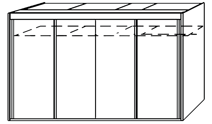 4 Door Slider 350cm Wide