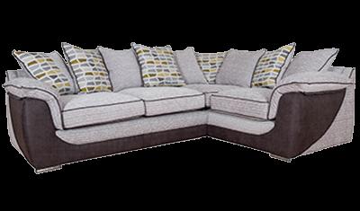 Corner Sofa Pillow Back