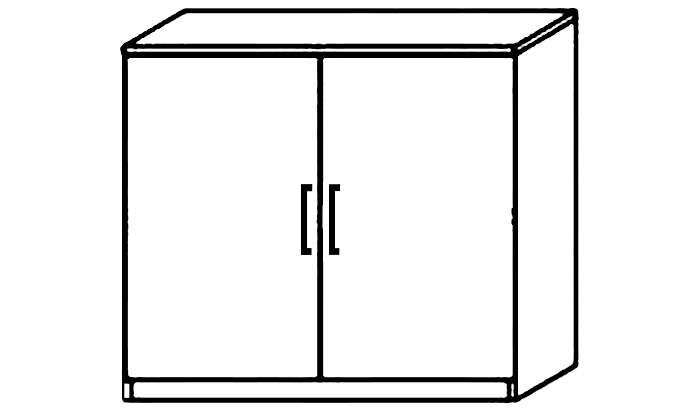 2 Door Chest