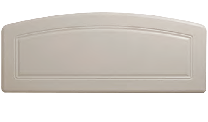 Belmont White Kingsize 150cm Headboard