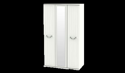 3 Door Tall Mirror Wardrobe