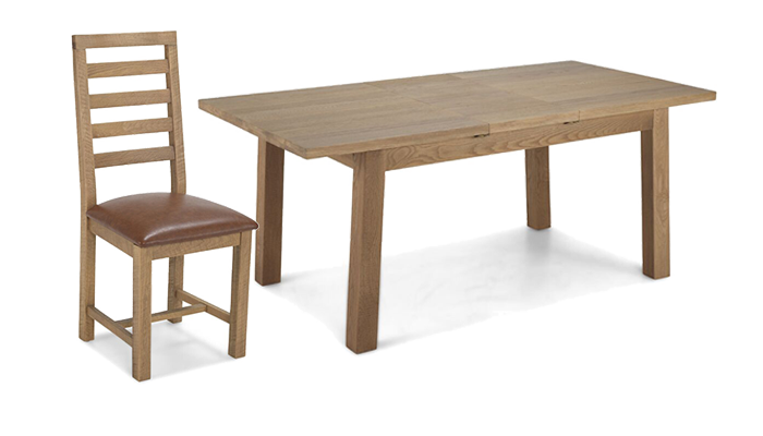 Ext Table & 4 Chairs
