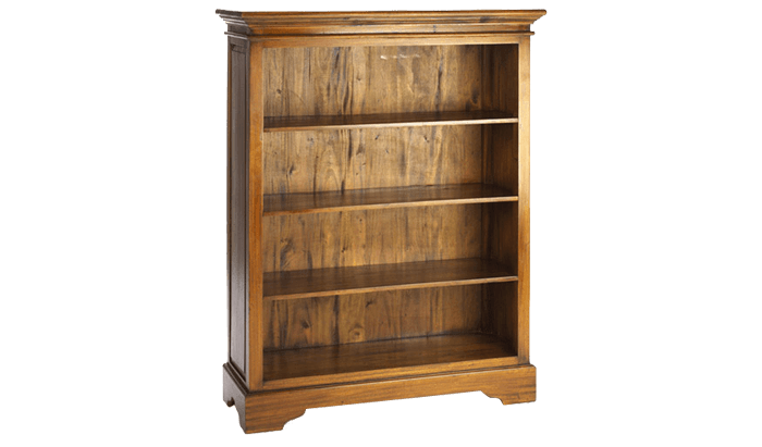Mahogany Village Medium Bookcase