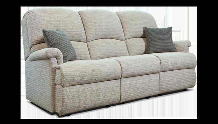 Standard 3 Seater Fixed Sofa
