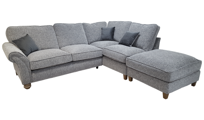 Upholstery Page, Corner Sofa With High Back