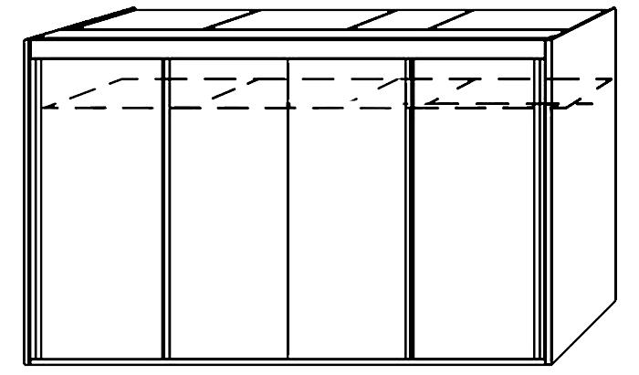4 Door Slider 320cm Wide